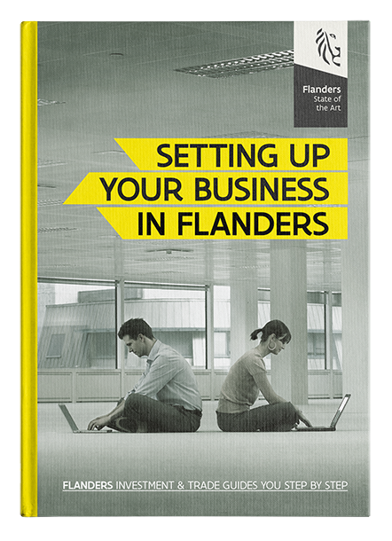 """Cover publication """"Setting up a business in Flanders"""""""