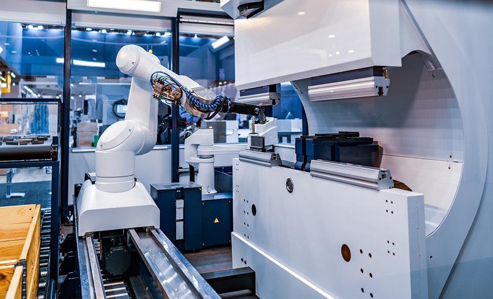 Robotic arm production line