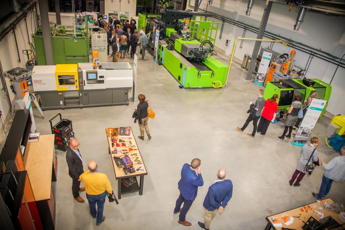 plastics training center in Genk, Belgium