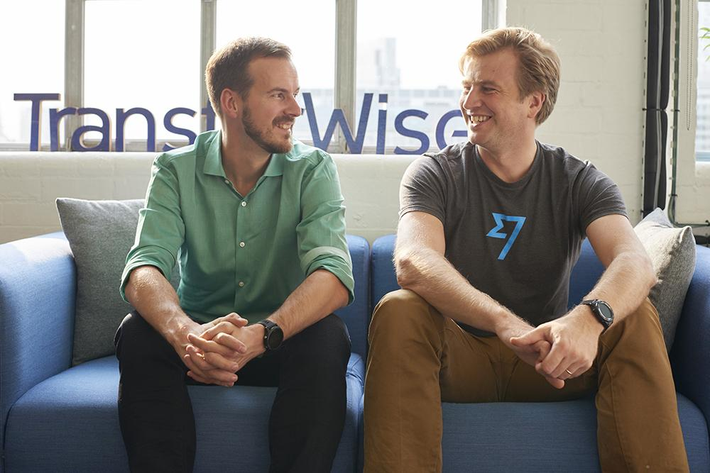 2 co-founders of TransferWise