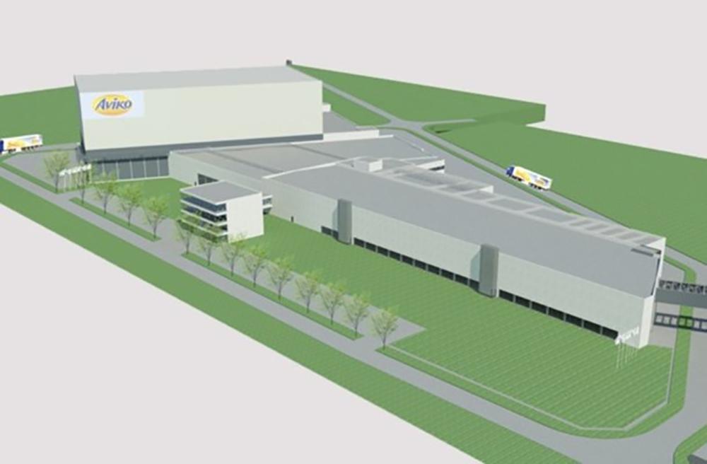 Aviko factory in Poperinge, Belgium