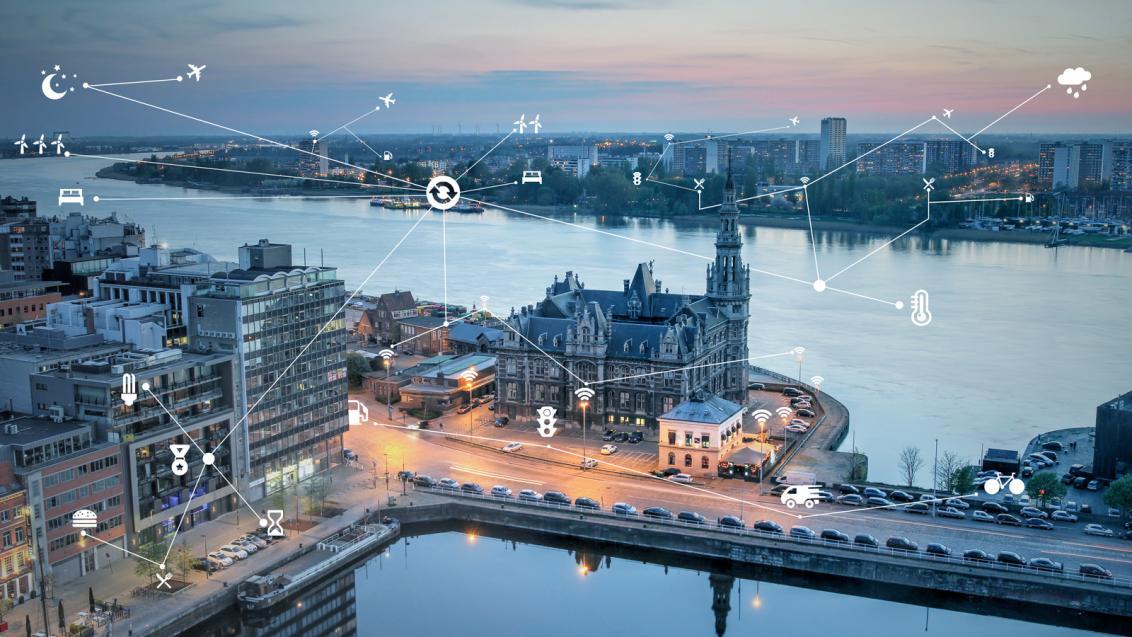 Antwerp (Flanders) aspires to be the 'Capital of Things'